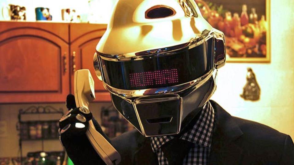 Daft Punkの最新アルバムと一緒にこのヘルメットもどうですか?