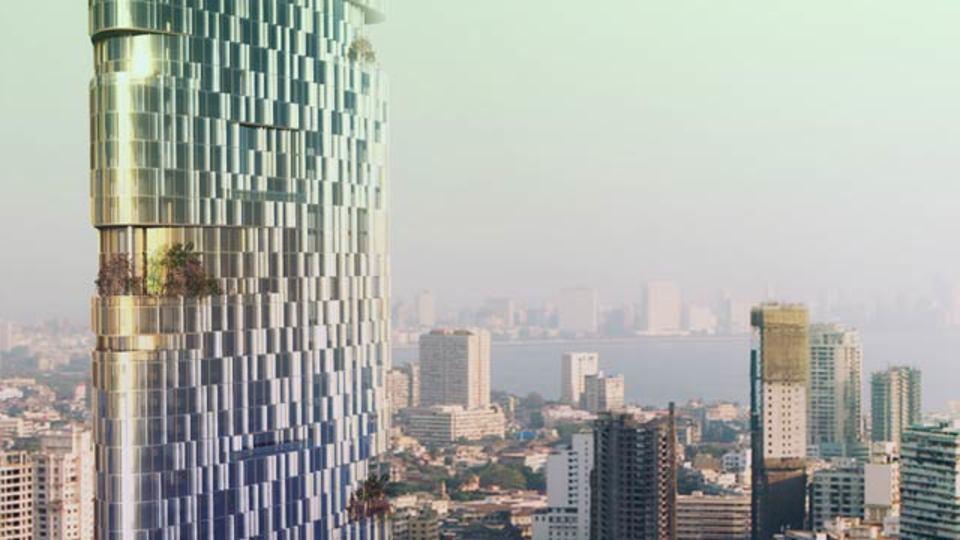 ムンバイに建設予定の116階建てインペリアルタワーは、「風を惑わせる」デザインに