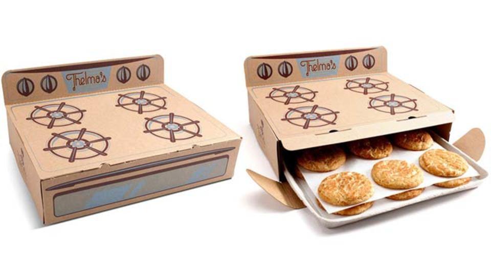 あつあつ焼きたて、クッキーを最大限美味しそうに見せる賢いパッケージ