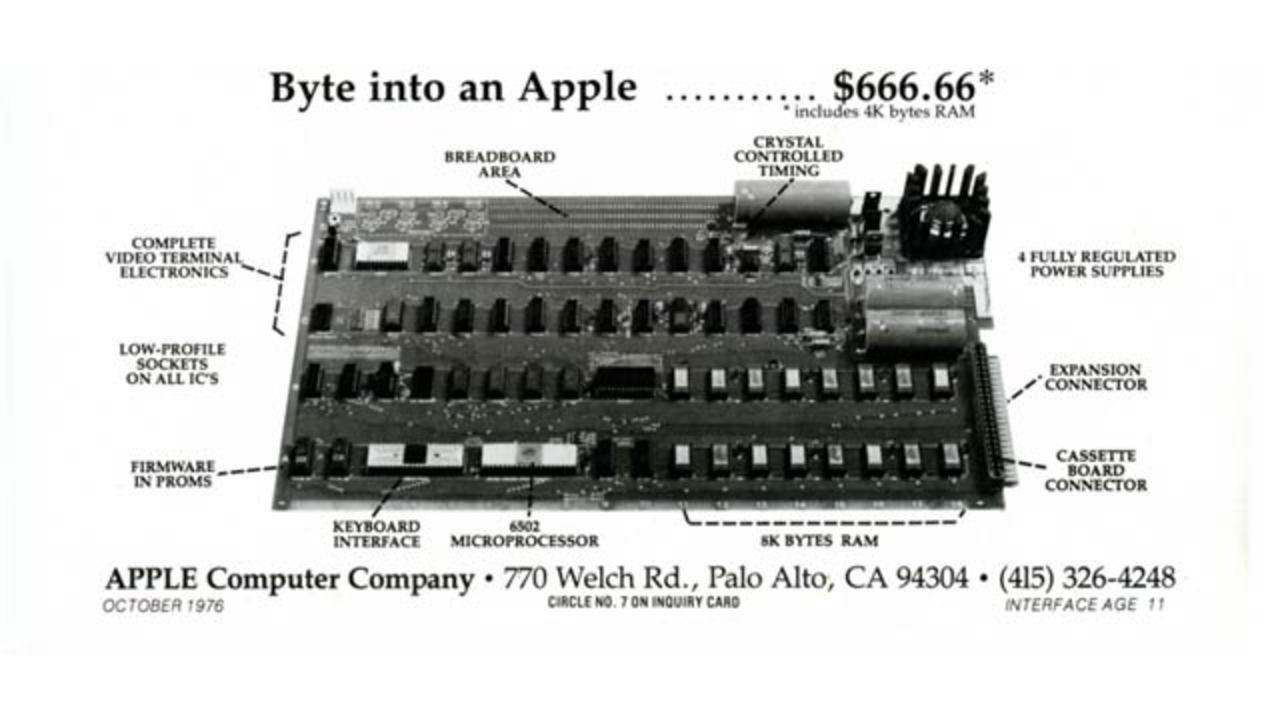 「Apple I」オークションで約6700万円で落札!