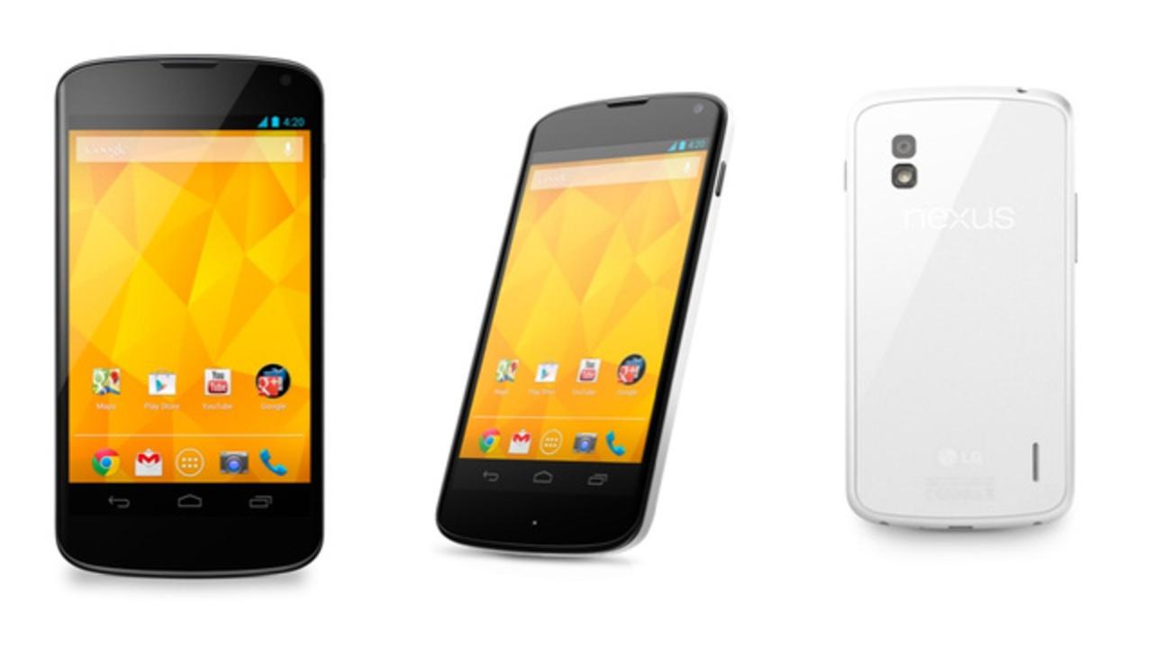 LG「Nexus 4」ホワイト版を発表、そして「Nexus 5」の予定は無いらしい