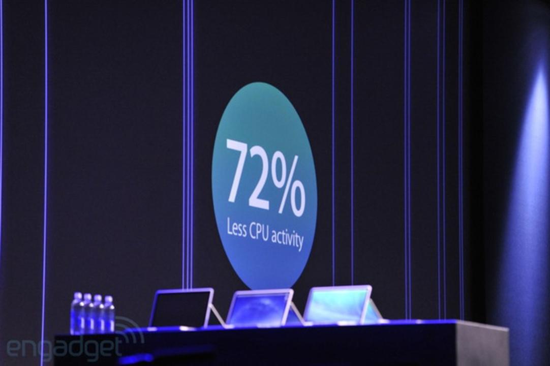 [ #WWDC2013 ]OS X MavericksはCPU効率が大幅向上