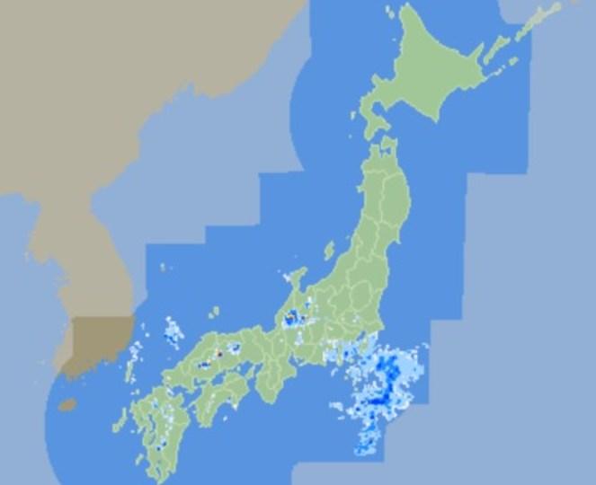 ちょうシンプル、だからいい。降雨を確認できる「日本のお天気レーダー」