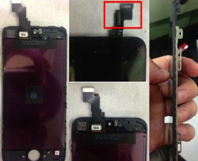 iPhone 5Sのディスプレイパネルとロジックボードが流出