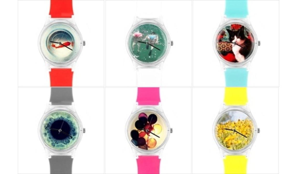 インスタグラマー必見! Instagramの写真で世界に1つだけの腕時計を作れるサービス