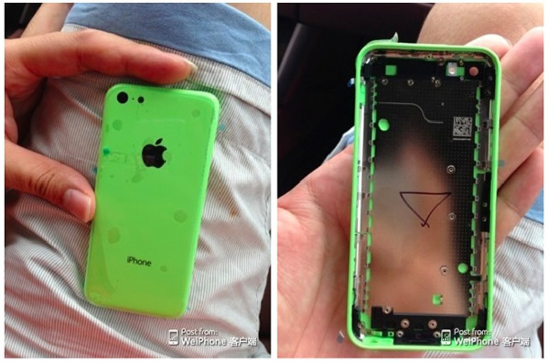 これが廉価版iPhone!? 筐体写真がリークされたよ