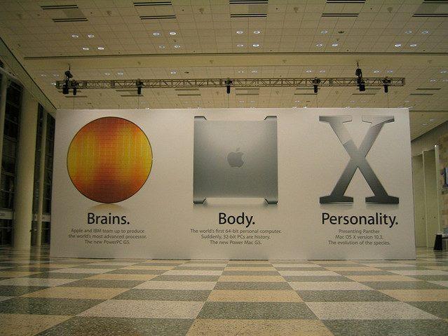 WWDCの横断幕にみるアップルデザインの歴史2002-2012