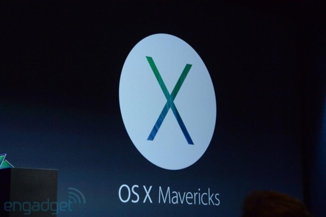 [ #WWDC2013 ]新しいMacOSの名前は「OSX Mavericks」に