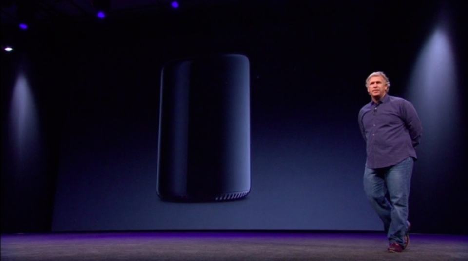[ #WWDC2013 ]MacProがようやくモデルチェンジ。なんだこの形!?