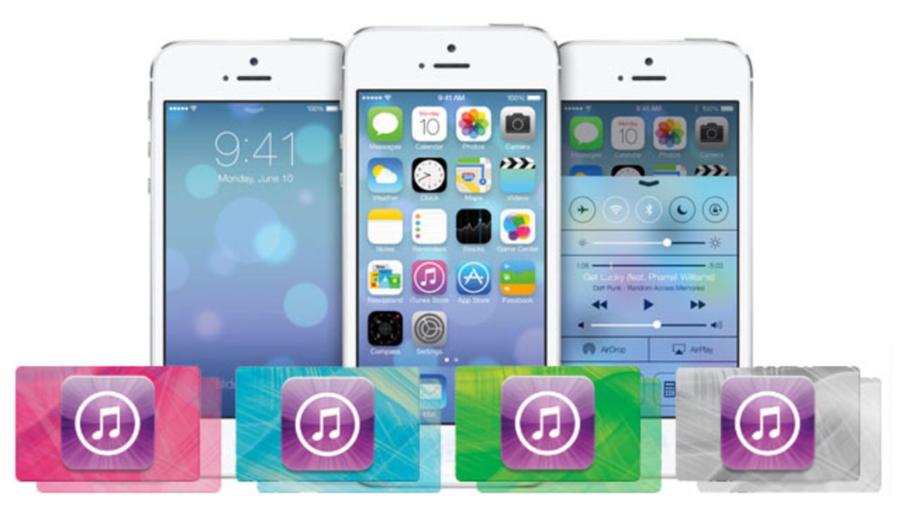 iOS 7ならiTunesカードのコードをカメラで読み込める!