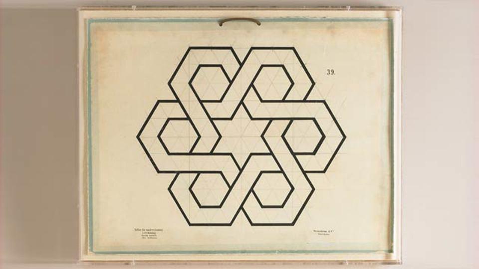 幾何学が何たるかを知らずとも目で楽しめる幾何学アート