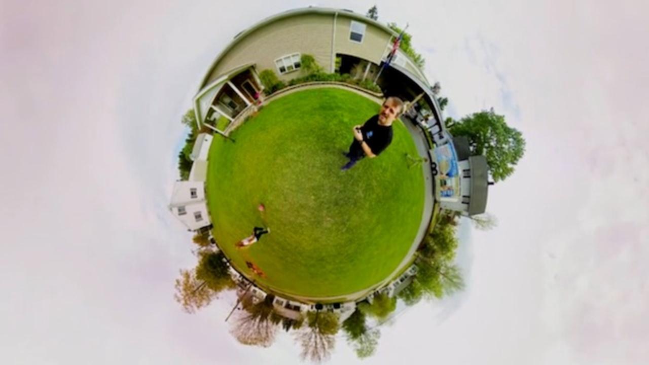 100パーセント360度撮影できるカメラ「360Heros」(動画あり)