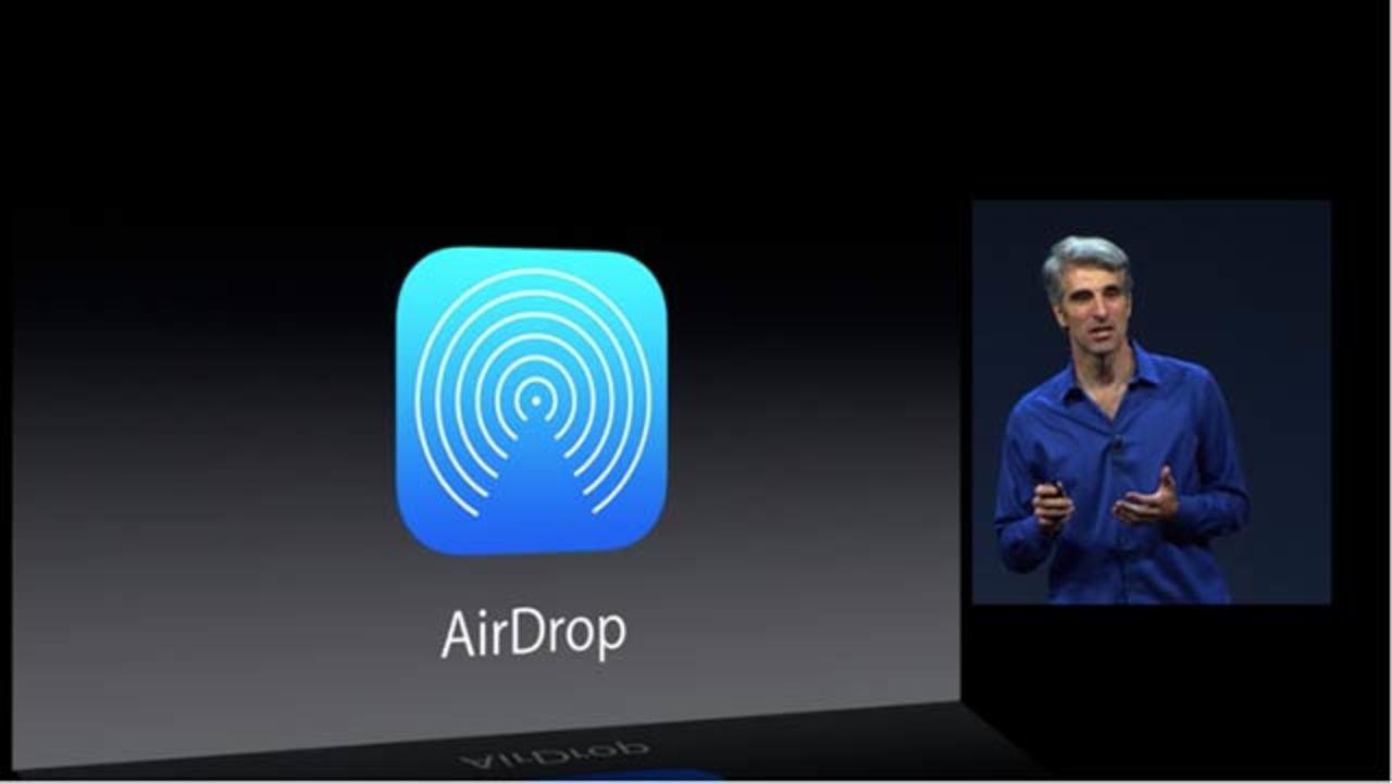 [ #WWDC2013 ]やったね、期待通りiOSにもAirDropがやってきた!
