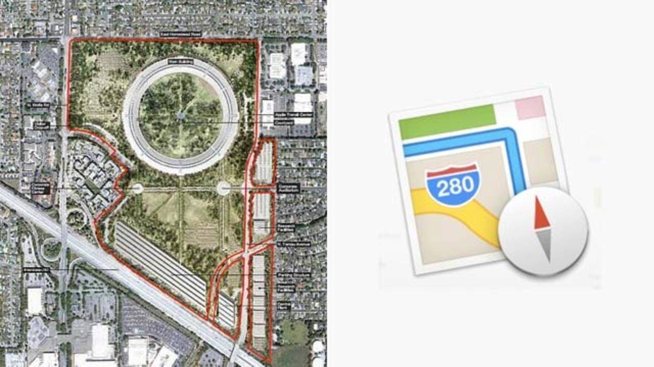 [ #WWDC2013 ]アップルの地図アプリ新アイコン、よくみるとアップル本社地図に