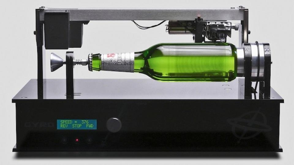数量限定確実!? 世界初の音楽を奏でるビール瓶「Edison Bottle」(動画)