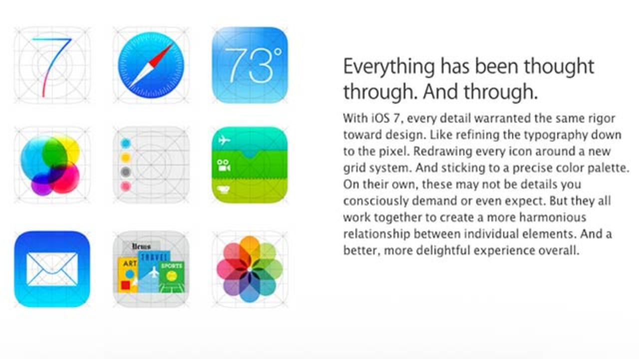 アップルが早くもiOS 7のアイコンを修正か!?