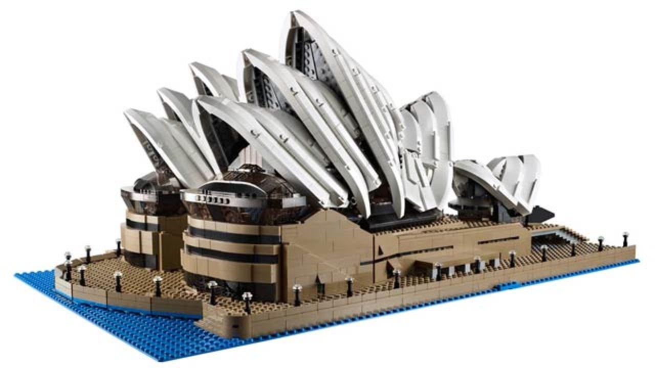 レゴの新セット、シドニー・オペラハウスは約3000ブロックの超大作(ギャラリー&動画あり)