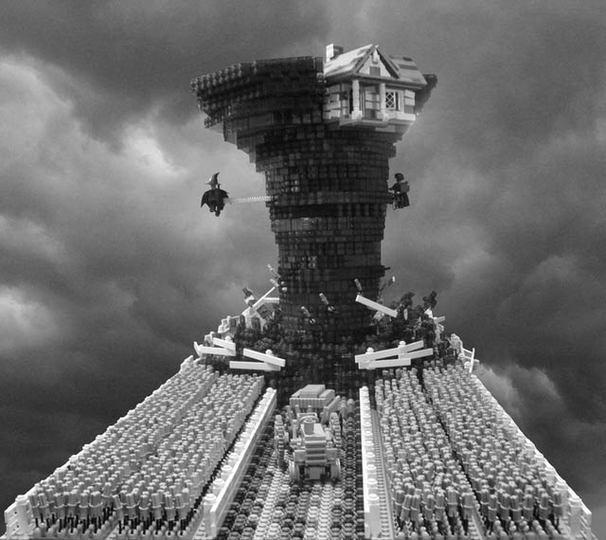 オズの魔法使の世界をレゴで完全再現(動画&ギャラリーあり)