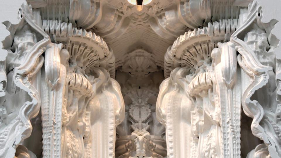 3Dプリンターだけで出来上がるグロテスクな部屋「Digital Grotesque」
