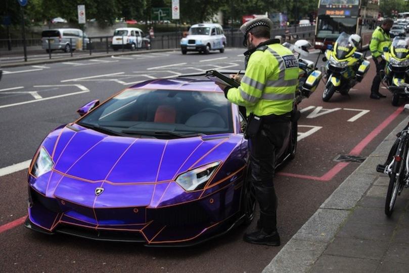 1台4000万円する過激に改造したランボルギーニ・アヴェンタドールがロンドンの公道で押収される(写真ギャラリーあり)