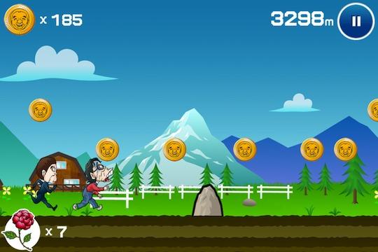 くだらなくてハマる...。「世界のヘイポー」がただ泣きわめきながら走るゲームアプリ「ヘイポーラン」Android版もリリース(動画あり)