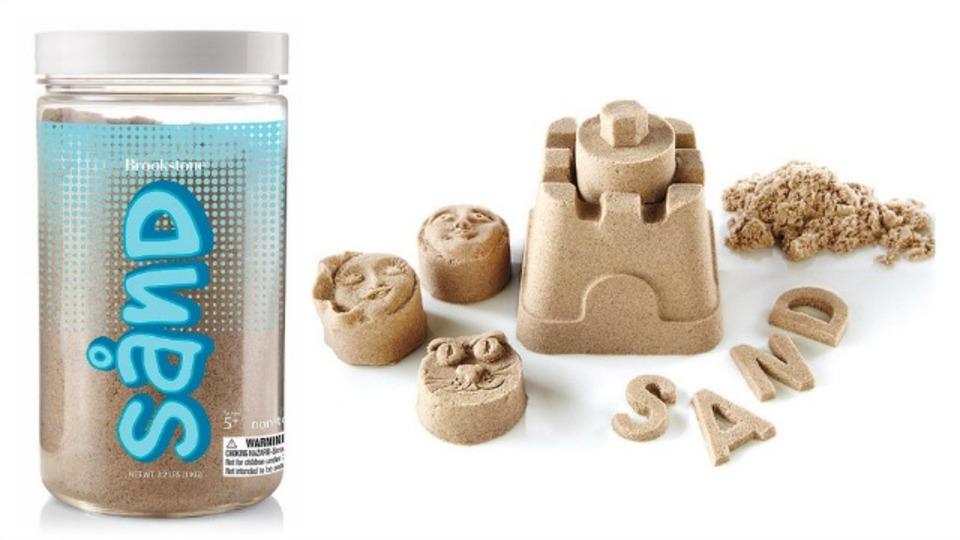 手を汚さずに砂のお城が作れちゃう「魔法の砂」(動画あり)