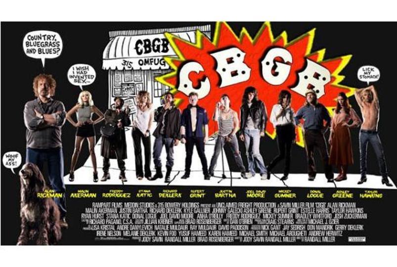 音楽好き必見! ニューヨークの老舗ライブハウス「CBGB」を題材にした映画が今秋公開に