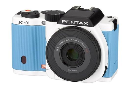 ペンタックス、綾波レイ色の新カラーリングでK-01を再販します