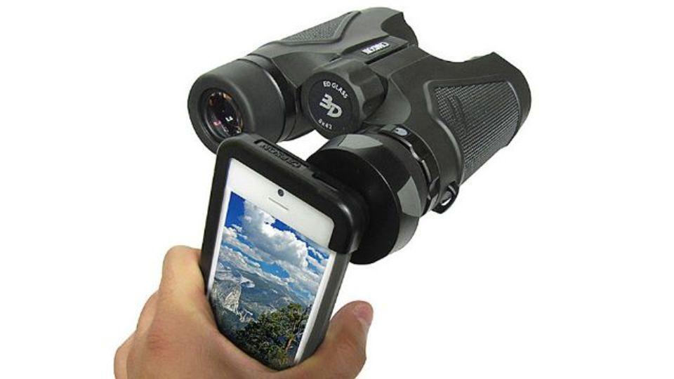 iPhoneに光学ズーム搭載! できるアダプタ