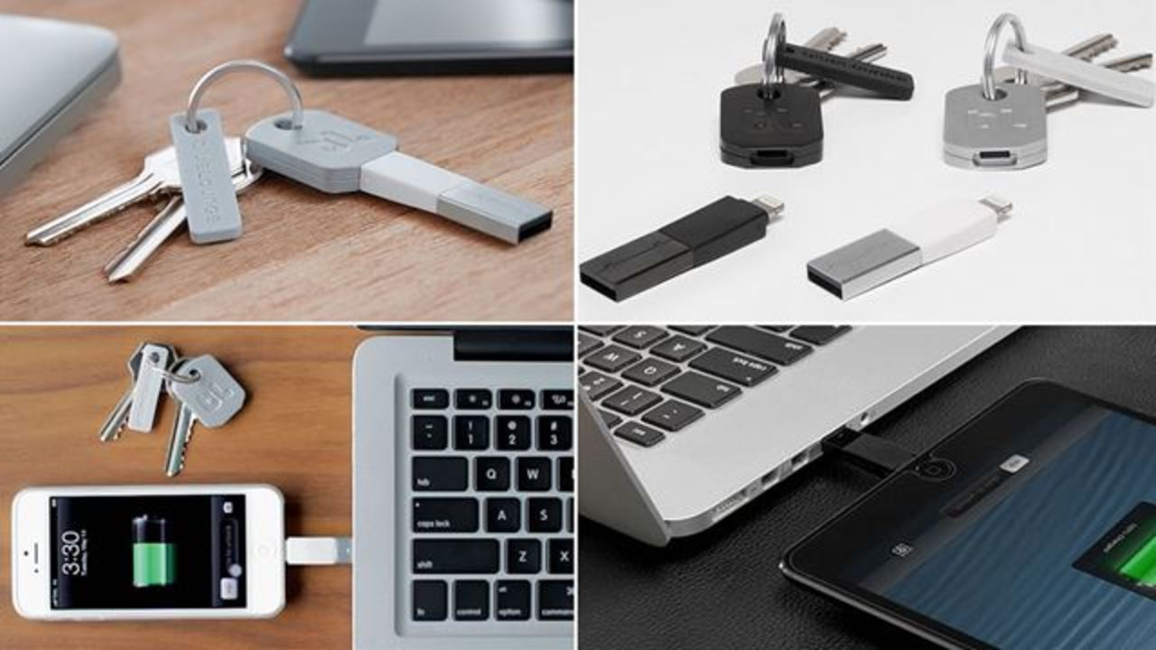 iPhone充電ケーブルを絶対忘れない鍵