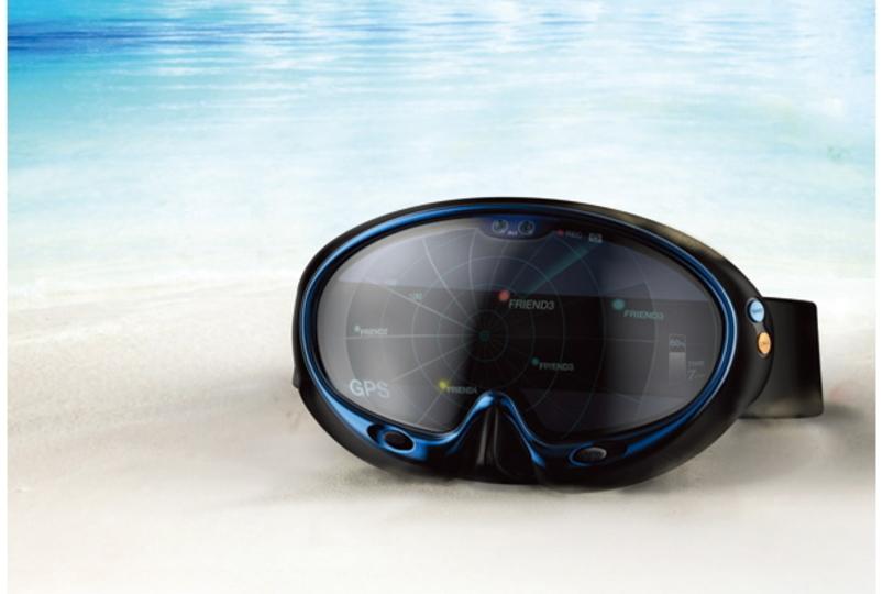未来を海の中にも。スマート潜水ゴーグル
