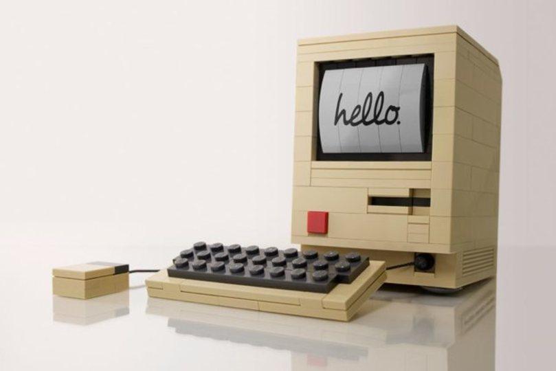 初代MacintoshのLEGO組立てキットが入荷