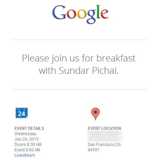 新型Nexus 7もくる? グーグルが24日にメディアイベントを開催