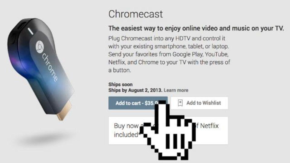 今日発表の新デバイス、Chromecastは買い? 買いじゃない?