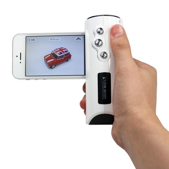 iPhoneがグリップ式のデジカメに早変わり。上海問屋よりカメラグリップが発売に!