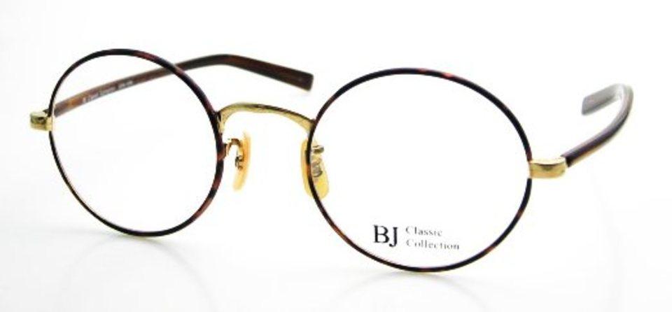 ミズタクの丸眼鏡はこれ。「COM-108S C-1」