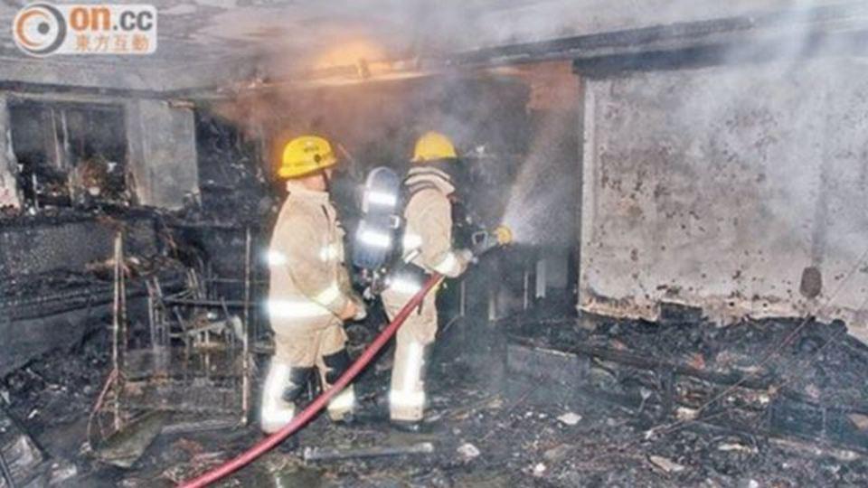 原因はGalaxy S4の爆発? 香港でアパート全焼