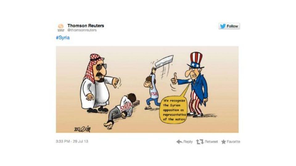 2段階認証は無敵じゃない。ロイターのTwitterアカウント、シリアから乗っ取られる