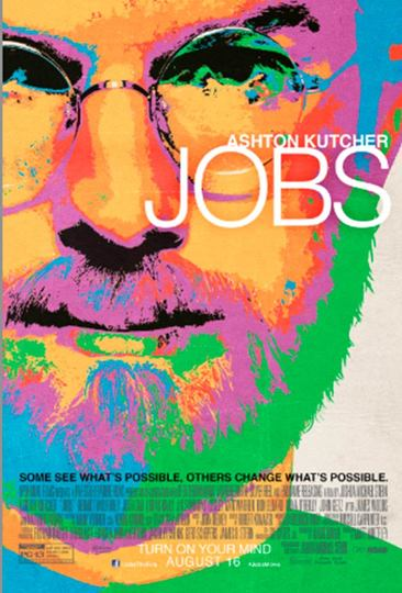 ジョブズ氏伝記映画「Jobs」ポスターが公開に