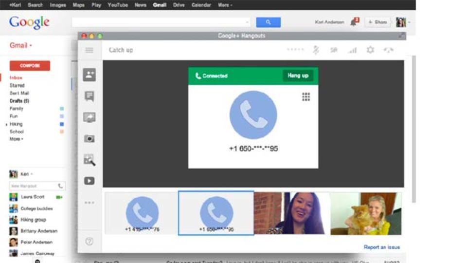 Gmailに電話機能がカムバック
