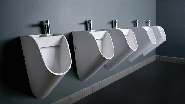 たとえばこんな便器なら、おしっこしたあと手洗いますか?