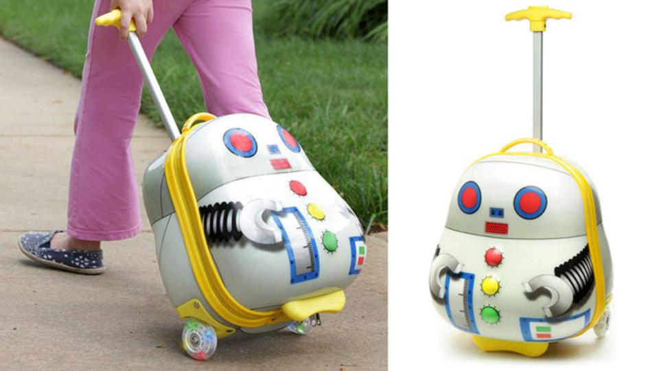 奇抜なデザインのスーツケースで差をつけろ