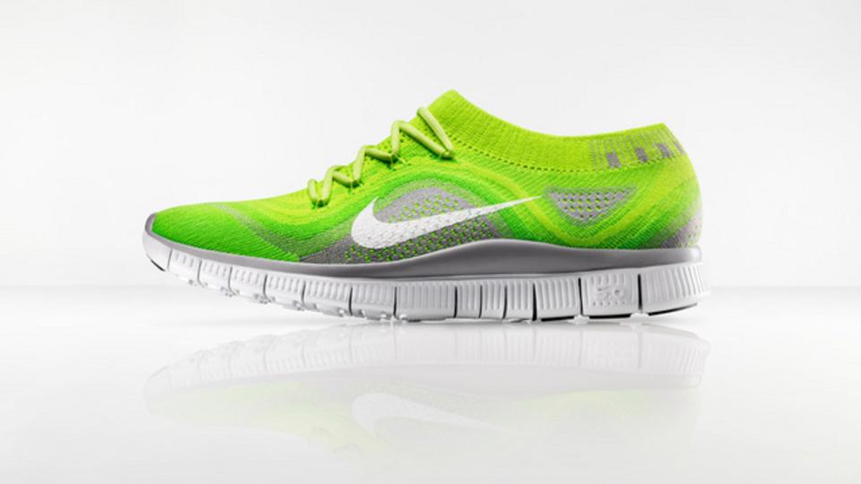 「Nike Free Flyknit」第二の肌のようなランニングシューズ(動画あり)