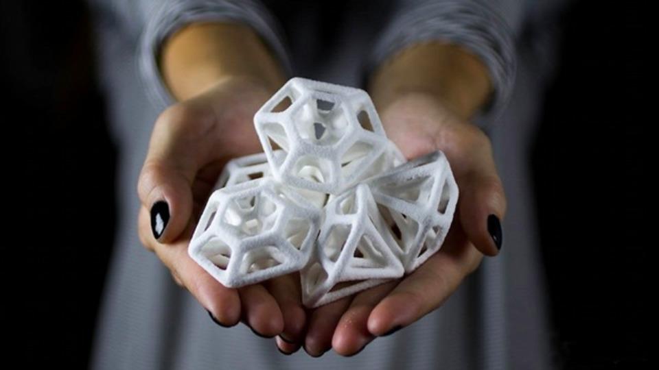 3Dプリンターが創り出すアートなお砂糖はいかが?