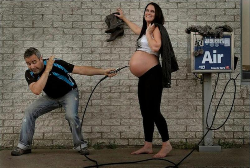 妊娠から出産までクリエイティブに過ごしたカナダ人夫妻