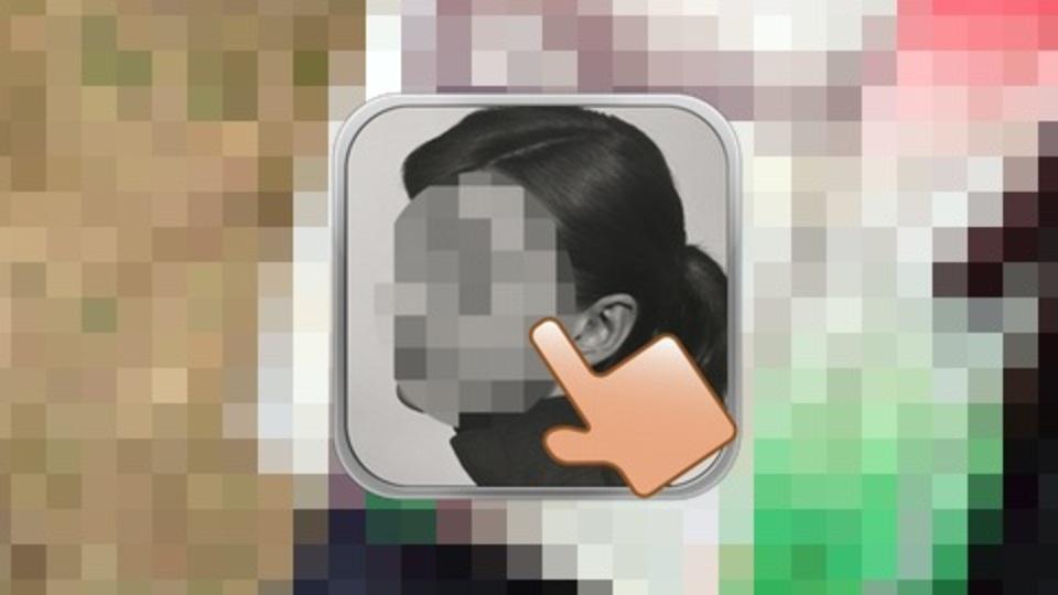 写真をなぞるだけ! iPhoneでモザイク加工したいなら無料の「タッチモザイク」が簡単便利