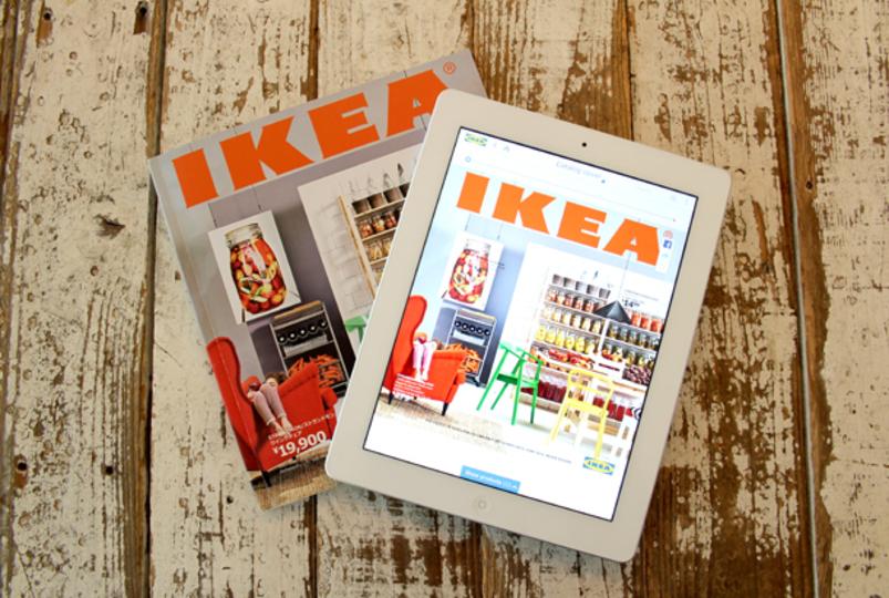 2014年度版イケアのカタログとアプリがスゴイ。ARと3D機能で「家具の配置シミュレーション」