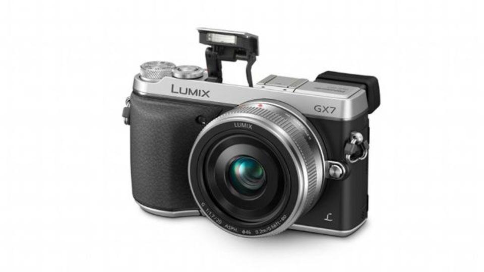 パナソニック渾身のミラーレスカメラ、LUMIX DMC-GX7