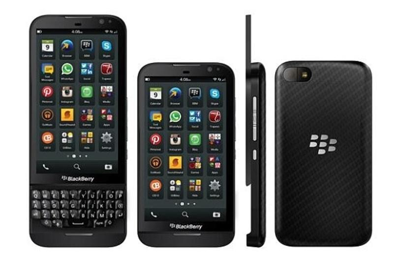BlackBerryの次期モデル「Z15」と「Z30」の画像が流出