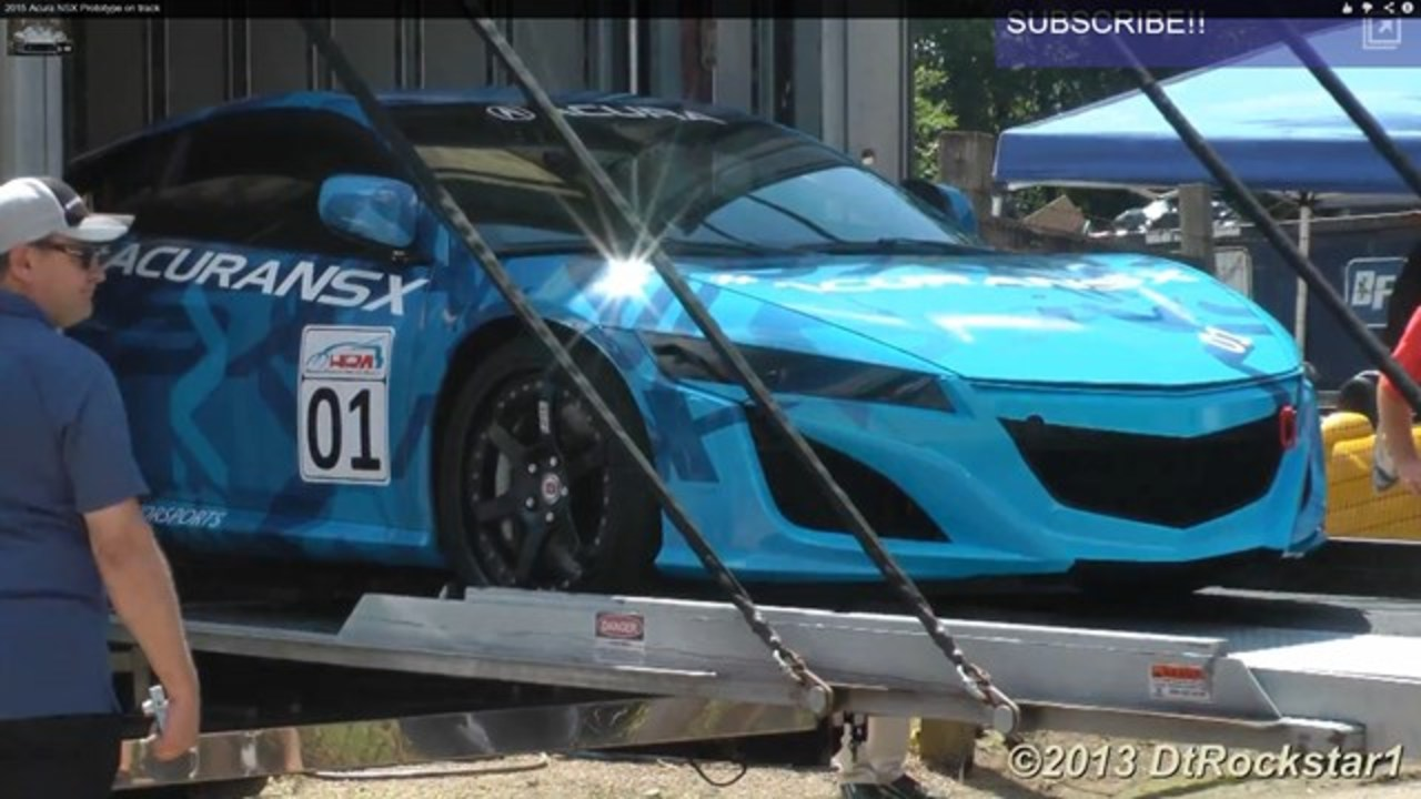 日本が誇るスーパーカー、ホンダの新型NSXプロタイプの動画まとめ